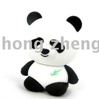 10pcs/freeshipping 2G 4G 8GB panda USB flash disk U-Disk flash memory disk