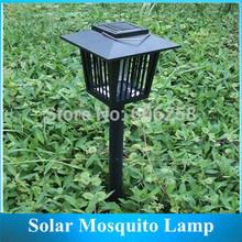 Free shipping mosquito lamp /LED Garden Lights, solar mosquito killer light !(China (Mainland))