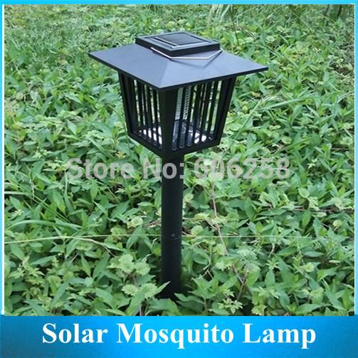 Grátis frete lâmpada mosquito / LED luzes do jardim assassino do mosquito luz solar(China (Mainland))