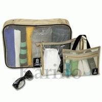 Free shipping Wholesale NEW Organizer Multi Bag Traveling Bag, 3pcs/set