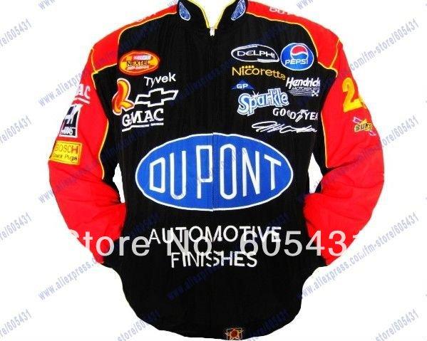 2011 NEW HOT TOP JACKET Blouson Jeff Gordon 24 Dupont NASCAR(China (Mainland))
