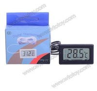 Digital Compact LCD Thermometer with Outdoors Remote Sensor