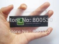 printing pvc transparent card 3.375*2.125*15MIL business card with customize logo