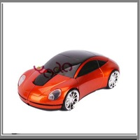 Free shipping + Hot Sale!Fashional Most Popular in 2011 2.4Ghz Palevioletred Car Wireless Mouse,7Sets/Lot- C02231