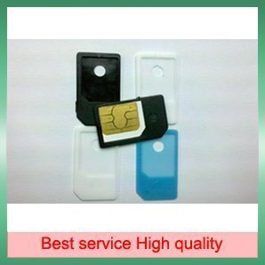 NEW Micro Sim Card Adapter for iPhone 4s 4 500 Pieces/Lot  Free Shipping With Tracking number