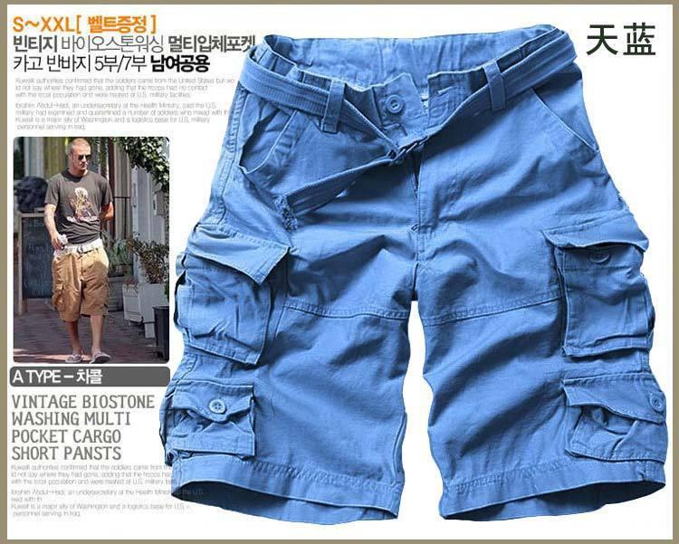New arrival mens cargo shorts, Cotton short pants designer camouflage