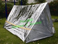 Emergency tent emergency shelter Survival Rescue tent Camping shelter Emergency Sun shelter Blanket 1pc