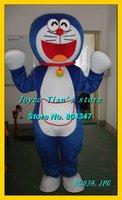 Newest Version Light Doraemon Mascot Costume Cartoon Mascot Character Costume Free Shipping