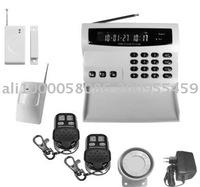 GSM  Wireless intelligent alarm system with LCD display and keyboard,Wireless Alarm,99 zeros Wireless Alarm,GSM Alarm