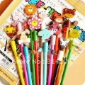 Free Shipping! Wooden Animals Pencil With Shakable Head, Cartoon Pencil/Fashion Pencil, 24 pcs/lot