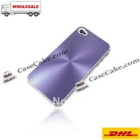 Aluminum Case Mobile phone case for Apple iPhone 4G Mix color DHL Free Shipping!