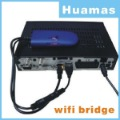 VAP11G WiFi Bridge for dm800 dm500 2.4G wirless Support Wifi model IEEE 802.11B free shipping