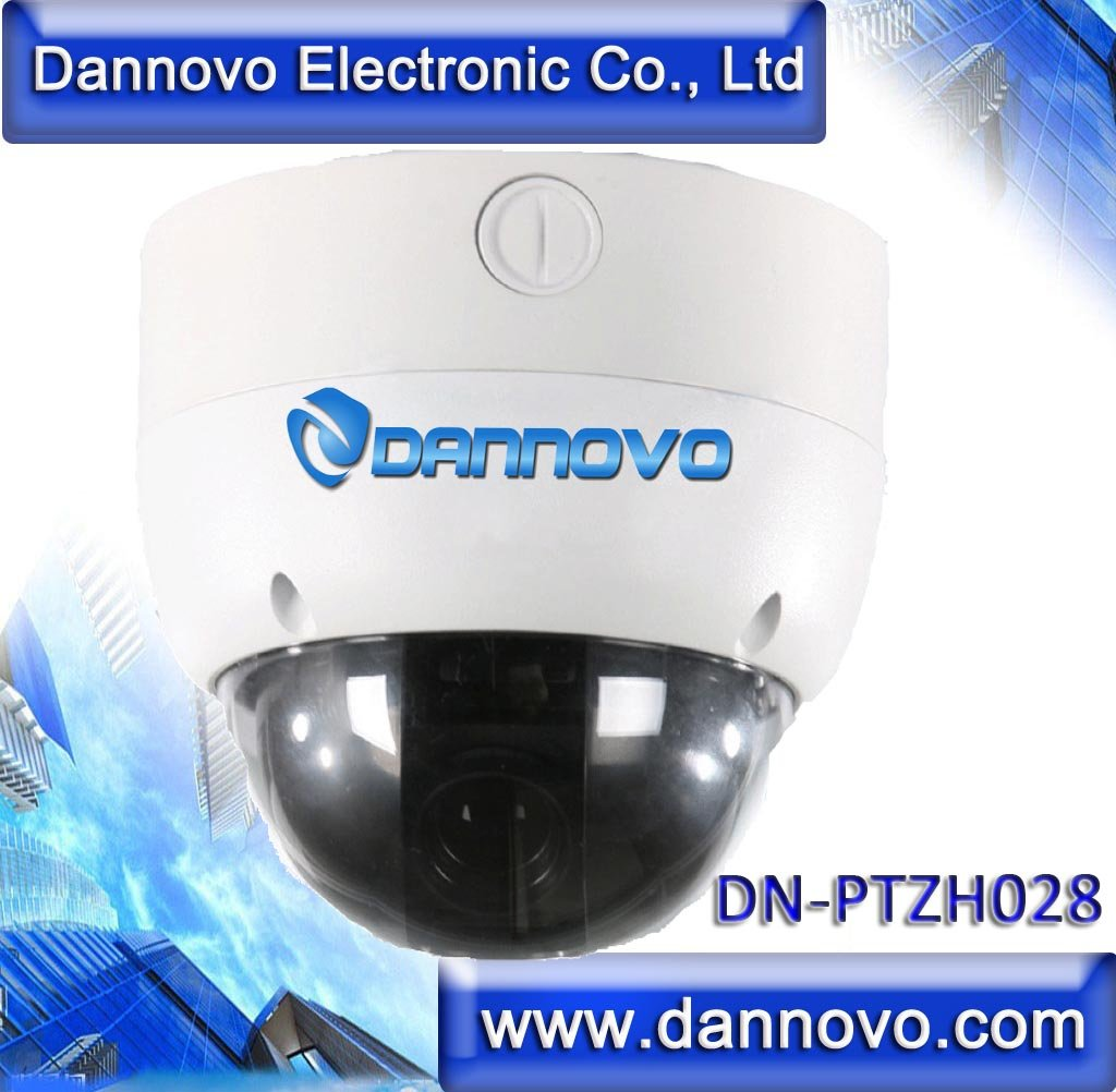 DANNOVO MiNi 4Inch Samsung10x Optical Zoom PTZ IP High Speed Dome Camera Sony CCD 520TVL Internet PTZ IP Camera(China (Mainland))
