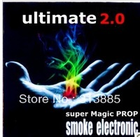 2013 New Magic Shocking close- props, super empty-handed out of the smoke 2.0 Professional Edition , Magic Smoke