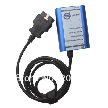 Free Shipping Volvo Vida Dice Interface Newest 2013A Version With Best Price,Hot Selling