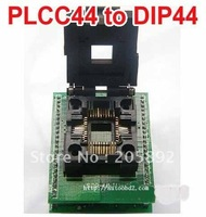 Original CHIP PROGRAMMER SOCKET PLCC44 TO DIP44 PLCC44-DIP44 Yamaichi Programmer Adapter socket( With cover)