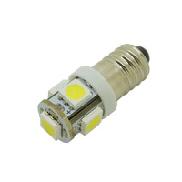led auto bulb E10 1449 428  Screw Base 5050 smd White Blue Green Red Instrument Lights Mixed Color 10 pcs / lot freeshipping