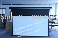 "FUTURE 120""16:9 tab-tension screen with soft matte white fabric"