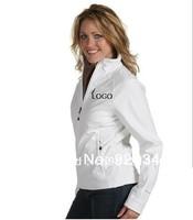 Wholesale  Woman Apex Bionic Gray Windproof waterproof 2013 fashion outdoor hot selling Jackets,softshell women coat  jacket