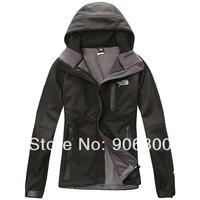 Apex Bionic denali fleece soft shell Green woman Jacket Hoodies Wholesale Windproof  waterproof  outdoor jackets