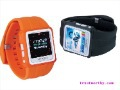 New!!! 1.5&amp;quot;TFT MP4 Watches Built in 2G Watch mp4 AD668 wrist watch MP3 music + video watch film + ebook + FM radio, listening