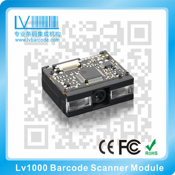 3.3V-5V DC LV1000 MINI barcode scanner module OEM Develop special connection with Android PC