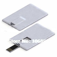 Wholesales 100% guaranttee!!! OEM 1GB/2GB/4GB/8GB credit card usb flash drive free shipping+ Free Double Side Colour Printing