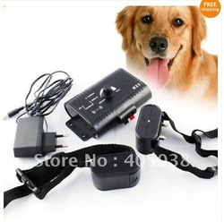 in-ground 2 DOG PET SHOCK COLLAR UNDERGROUND ELECTRIC pet fencing System(China (Mainland))