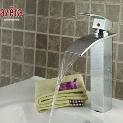 New Product LED Chrome Polished Single Lever Basin Tap colorful(China (Mainland))