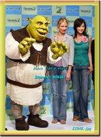 Newest Version Light Shrek Costume Character Costume Cartoon Mascot Character Costume Free Shipping