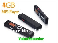 New! 4GB Multi-functional MINI DVR Sound Recording Digital Audio Voice Recorder Dictaphone +MP3 Player