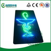 12*24inch acrylic sign/double color high brightnes LED cross sign /LED Pharmacy cross sign