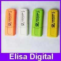 FREE SHIPPING USB 2.0 micro sd card reader,tf card reader,mini all in onesd card reader,RY020