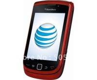 Original&Unlocked  BlackBerry 9800 torch Red/Black/white colour in stocks Wi-Fi GPS,slide QWERTY+touch screen 5.0m Free shipping