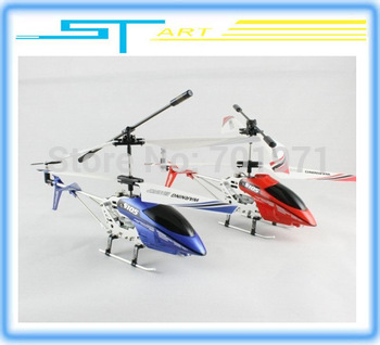 Free shipping Syma 22cm s105 S105G Metal 3ch R/C Mini Helicopter 3 Channel Micro RC plane RTF gift with flashlights usb charger