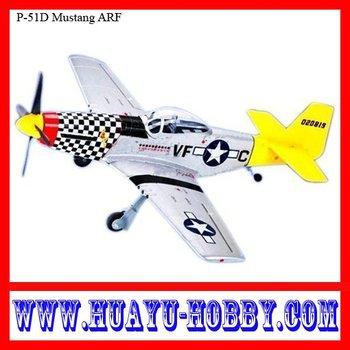 rc electric plane  warbird P-51D Mustang  PNP