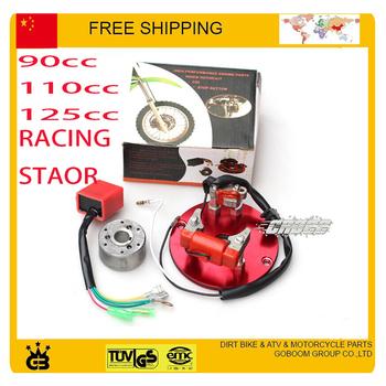 free shipping high performance Racing HP Magneto Coil stator 90cc 110cc 125cc Dirt Pit Bike ATV  pit monkey bike accessories