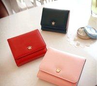 Free shipping!Factory price Wholesale 20pcs/lot  South Korea donbook princess temperament multi-function crown purse