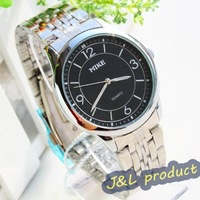 Mens fashion business waterproof gift watch, quartz analog wrist watch, Free shipping