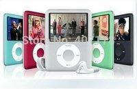 "New Slim 1.8"" LCD 8GB 3th MP4 Player MP3 Player Voice Recorder E-Book Reading FM Radio Free shipping"