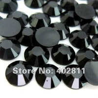 jet 30 ss6 2mm 50000pcs Resin rhinestone flatback Free shipping