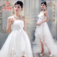 Freeshipping Wedding dress 2011 New Arrival Short Trailing Princess Wedding Dress,Wedding Gown, Bridal Dress