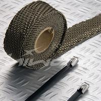 basalt fiber heat wrap 2''*100'(include 5 FREE 304 Ss zip ties)