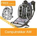 "New Lowepro Computrekker AW DSLR Camera Photo & 15.4"" Laptop Backpacks Photo Bag--New and Genuine"