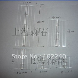 clear transparent acrylic plastic piano hinges(China (Mainland))