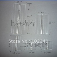 clear transparent acrylic plastic piano hinges