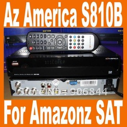 South Amercia NTSC Azbox az america s810B USB Receiver (USB+PVR+FTA+Patch+HDMI) For Free shipping(China (Mainland))