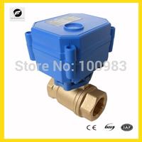 "1/4"" 1/2'' motorised ball valve for watertreatment"