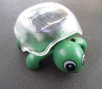 Free Shipping 10pcs/lot solar toy, solar power toy mini Tortoise, solar gift for boy