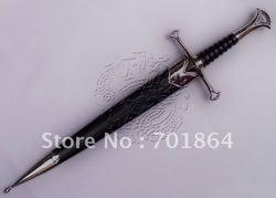 Free Shipping - Aragorn short sword from Lord of the Rings Gift box packing(China (Mainland))